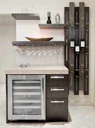 homemade wine rack kitchen contemporary with hanging glasses