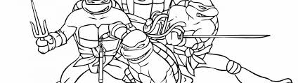 teenage mutant ninja turtles coloring pictures timykids