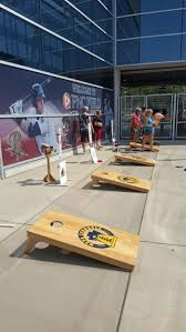 tailgating game a hit with fans news the times tribune