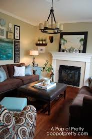 brown livingroom turquoise and brown living room ideas fabulous about remodel