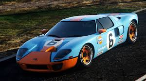 gulf gt40 ford gt 2005 gulf paintjob 2 colors for original livery gta5