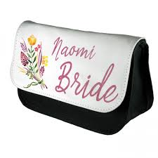 a pretty floral personalised make up bag perfect gift idea for her