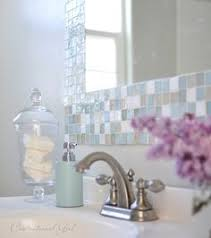 Small Bathroom Mirrors by Frame Your Mirror That Has Plastic Clips Plastic Clips Bathroom