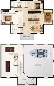 2 Story Garage Apartment Plans 254 Best 1 000 1 500 Sq Ft Images On Pinterest Small House
