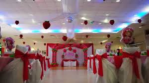 strawberry shortcake theme decorations specialized for balloon