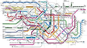 Bangkok Subway Map by Tokyo Subway Map Holy Moly 1 698 938 Mapporn