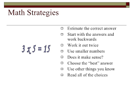 taking a multiple choice test itbs