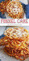 homemade funnel cake even better than what you get at the fair