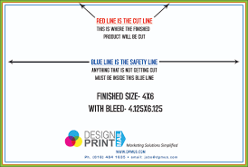 4x6 template design print mail