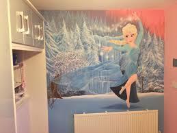 frozen elsa painted wall mural kids wall murals pinterest frozen elsa painted wall mural