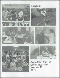1980 high school yearbook explore 1980 crete high school yearbook crete ne classmates