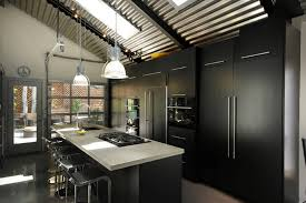 ideas for a kitchen black kitchen ideas for the bold modern home brown and