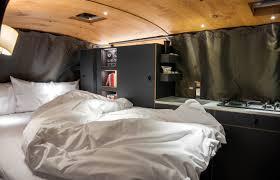 luxury living on the go elegantly minimalist camper van