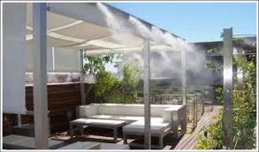 patio misting system outdoor misting system cool patio mist