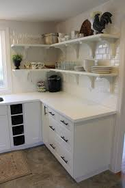 Full Overlay Kitchen Cabinets Inimitable Kitchen Cabinet Shelving Systems With Swing Out