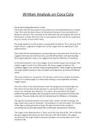 financial need essay sample ad essay examples of rhetorical analysis essays sample rhetorical 1 analytical essay on coke