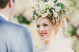 wedding crowns 20 floral bridal crowns flower wreaths trendy tuesday