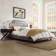 homesullivan monarch grey full upholstered bed 40e388b012wbed