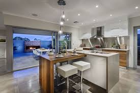contemporary kitchen island cart exposed beam ceiling square