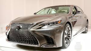 lexus ls features 2018 lexus ls new brand flagship bows kelley blue book