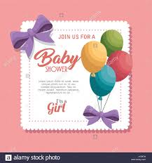 baby party greeting invitation card stock photos u0026 baby party