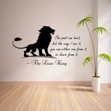 lion inspirational quote wall sticker vinyl mural art wall decal