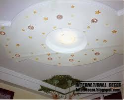 5 modern kids room gypsum ceilings designs