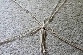 diy macrame hanging plant holder tutorial
