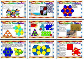 maths resource ks2 tessellating shapes explanation and examples