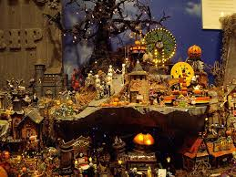 image result for lemax spooky town display platform halloween