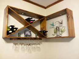 wine rack wine glass rack wall mount shelf metal wine rack wine