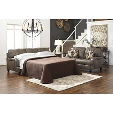 Leather Sofa Sleeper Queen Leather Sleepers You U0027ll Love Wayfair