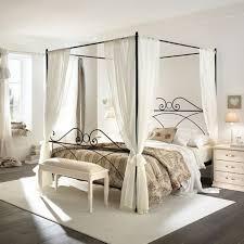 fer forgé chambre coucher le lit en fer forgé la tendance déco de la chambre à coucher