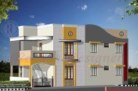 home design indian house design double floor house designs