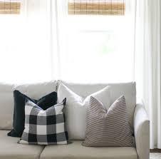 Navy Buffalo Check Curtains Buffalo Check And Ikea House Seven Design Build