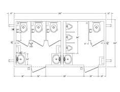 Bathroom Size Requirements Parking Garage Layout Dimensions Fascinating Concept Bathroom
