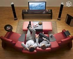 stressless canapé canape pouf cuir stressless ekornes home cinema ameublement dordogne