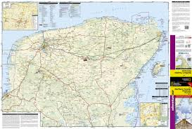 Playa Del Carmen Mexico Map by Yucatan Peninsula Riviera Maya Mexico National Geographic
