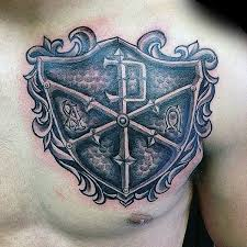 50 chi rho tattoo designs for men christian symbol ink ideas