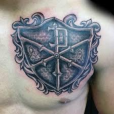 shield tattoo ideas 25 powerful shield tattoo designs best 10