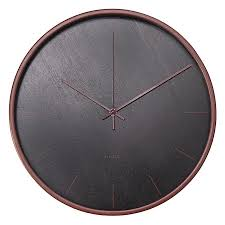 Wooden Wall Clock Modern Wall Clock Black 136 Black And White Wooden Wall Clock