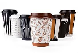 coffe cups amazon com hornbit disposable coffee cups with lids and coffee