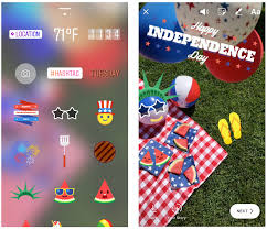 instagram launches stickers for independence day and canada day
