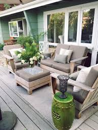 Outdoor Livingroom by Outdoor Deck Decor My Winter Garden Spruce Up Cococozy
