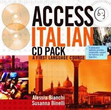 access italian cd and transcript pack alessia bianchi