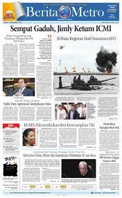 berita metro edisi 14 desember 2015 by harian berita metro issuu