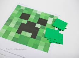 minecraft wrapping paper minecraft wrapping creeper bonus you can wear