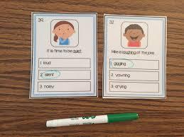 organizing synonym synonym and antonym vocabulary boards the autism helper