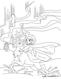 the snow queen tale coloring pages hellokids com
