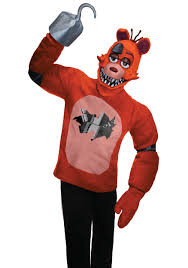 foxy costume five nights at freddy s foxy costume